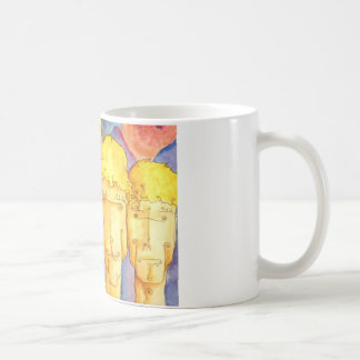 暗闇それらは、金目あり コーヒーマグカップ