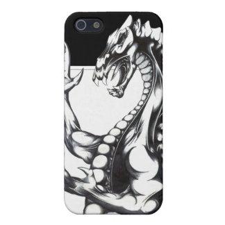 暗闇のドラゴン iPhone SE/5/5sケース