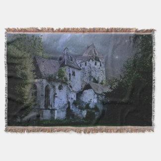 暗闇のハロウィンの城 スローブランケット