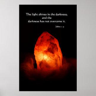 暗闇のライト ポスター