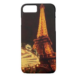 暗闇の後のエッフェル塔 iPhone 7ケース