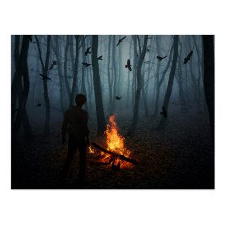 暗闇の滝 ポストカード
