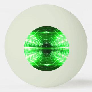 (暗闇の白熱)緑、黄色、またはオレンジ- 卓球ボール