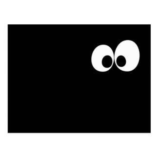 暗闇の目 ポストカード