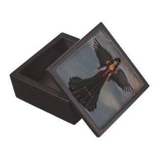 暗闇の記念品箱の天使 ギフトボックス
