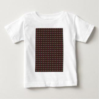 暗闇はストライプ着色しました: エレガントでユニークなパターンギフト ベビーTシャツ