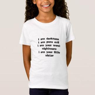 暗闇、純粋な悪、最も悪い悪夢、妹 Tシャツ