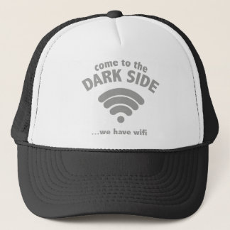 暗黒面に来られて…私達にWifi.があります キャップ