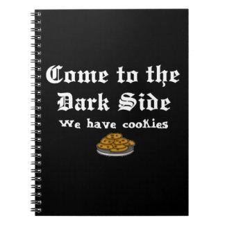 暗黒面に来られる喜劇 ノートブック