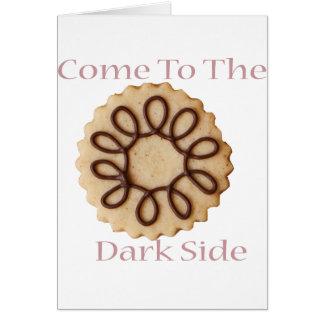 暗黒面に来られる グリーティングカード