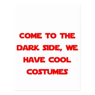 暗黒面に来られる ポストカード