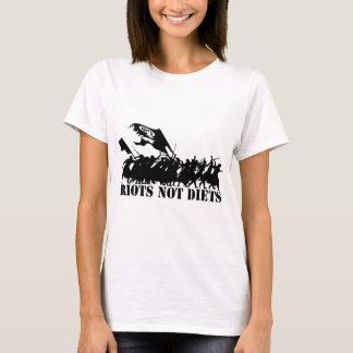 暴動のないダイエットの群集 Tシャツ