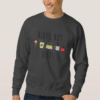 暴動のないダイエットのCrewneckのスエットシャツ スウェットシャツ