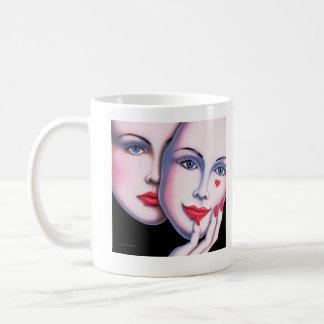 暴露される コーヒーマグカップ