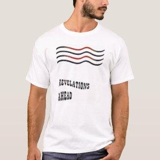 暴露の前方にTシャツ Tシャツ