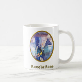 暴露の馬のライダー コーヒーマグカップ