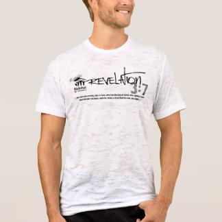 暴露の3:7の整列の焼損 Tシャツ