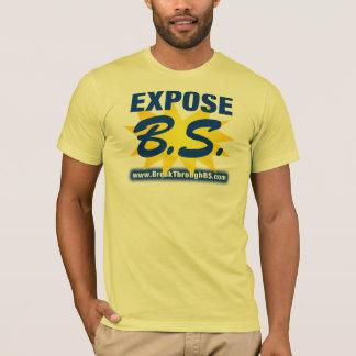 暴露B.S. Tシャツ