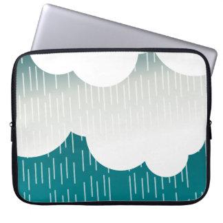 曇った及び雨 コンピュータ用スリーブ