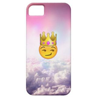 曇った嘲笑の王冠のEmojiのiPhoneの場合 iPhone SE/5/5s ケース