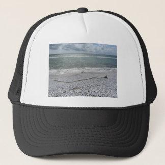 曇った日のマリーナのディディミアムのピサのビーチの海岸 キャップ