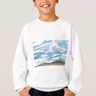 曇った景色 スウェットシャツ