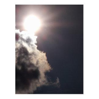 曇った晴れた日 ポストカード