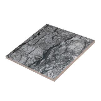 曇った石板の黒は大理石の石造りの終わりを縞にしました タイル