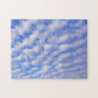 曇った青空のパズル ジグソーパズル