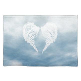 曇った青空の天使の翼 ランチョンマット