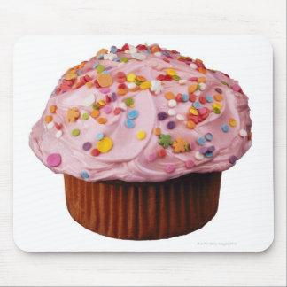 曇らされたカップケーキはとの振りかけます マウスパッド
