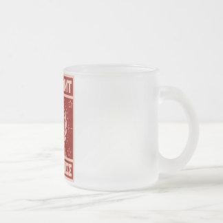 曇らされたマグ-一定したガレージの騒音 フロストグラスマグカップ