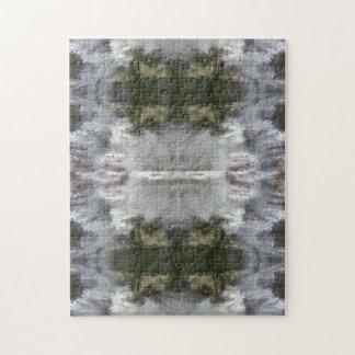 曇らされた抽象デザインのパズル ジグソーパズル