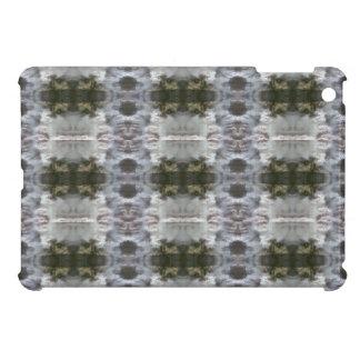曇らされた抽象デザインのiCases iPad Miniカバー