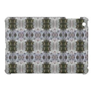 曇らされた抽象デザインのiCases iPad Miniケース