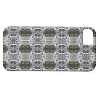 曇らされた抽象デザインのiCases iPhone SE/5/5s ケース