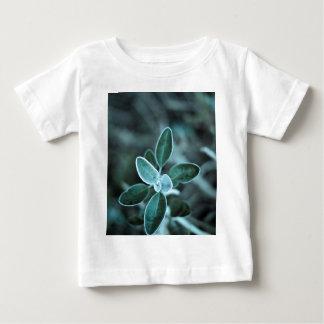 曇らされた葉 ベビーTシャツ