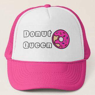 曇らされるドーナツ女王のピンク キャップ