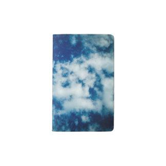 曇り空のノートカバー ポケットMoleskineノートブック