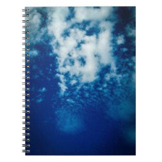曇り空の螺線形ノート ノートブック