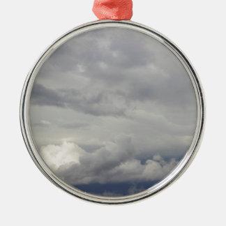 曇り空 メタルオーナメント
