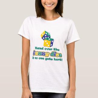 曖昧なサイコロを引き渡して下さい Tシャツ