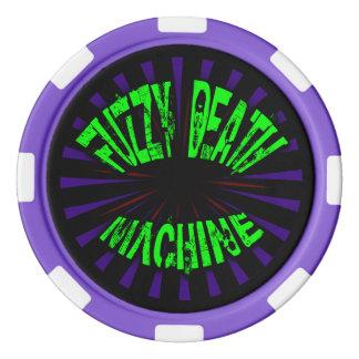 曖昧な死機械-ポーカー用のチップ ポーカーチップセット