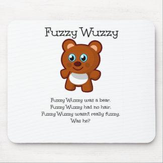 曖昧なWuzzy マウスパッド