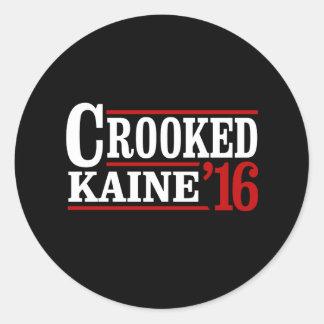 曲がったクリントンKaine 2016年- ラウンドシール