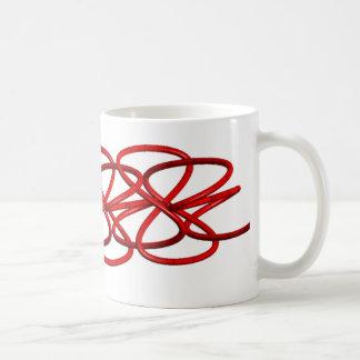 曲がりくねっている管 コーヒーマグカップ