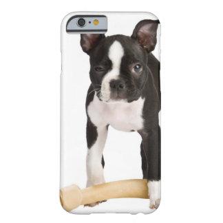 曲がりくねっている骨を守っているボストンテリア BARELY THERE iPhone 6 ケース