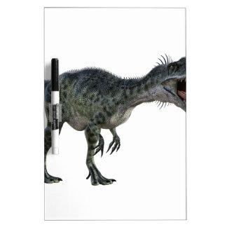 曲がり、とどろくMonotophosaurus ホワイトボード