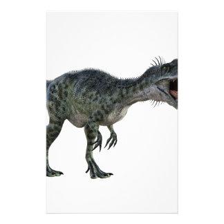 曲がり、とどろくMonotophosaurus 便箋