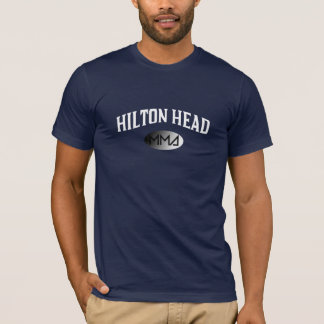 曲がるヒルトンヘッドMMAのティー Tシャツ
